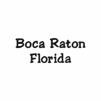 Boca Raton Florida FL Shirt - Customizable !!! Polo Shirts