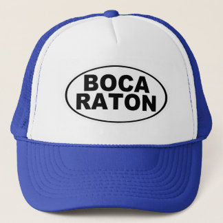 Boca Raton Florida Trucker Hat