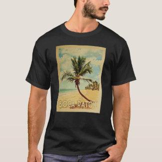 Boca Raton Vintage Travel T-shirt - Beach