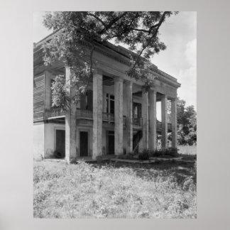 Bocage Plantation Print