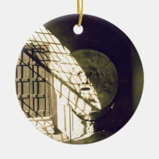 Bocca della Verita (The Mouth of Truth) Ceramic Ornament
