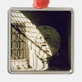 Bocca della Verita (The Mouth of Truth) Metal Ornament