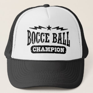 Bocce Ball Champion Trucker Hat