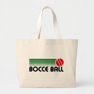 Bocce Ball Large Tote Bag