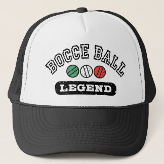 Bocce Ball Legend Trucker Hat