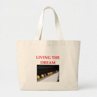 bocce canvas bag