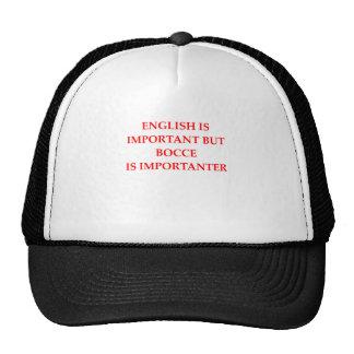 BOCCE CAP