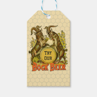 Bock Beer Goats Vintage Advertising
