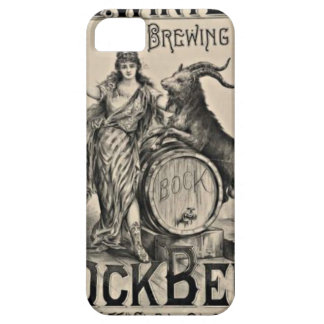 Bock Beer old advertising Barely There iPhone 5 Case