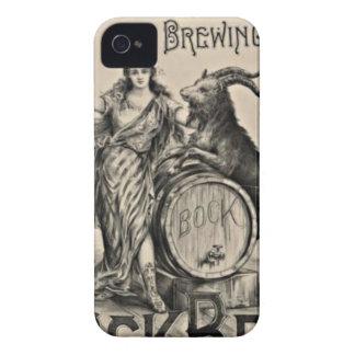 Bock Beer old advertising iPhone 4 Case-Mate Case