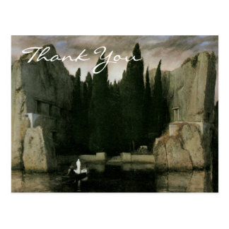 Bocklin's Isle of the Dead, third version Postcard