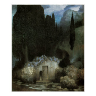 Bocklin's Tomb Poster
