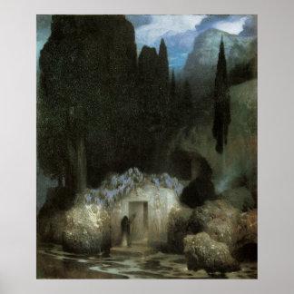 Bocklin's Tomb Poster