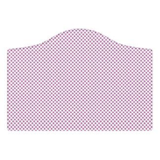 Bodacious Polka Dots Door Sign