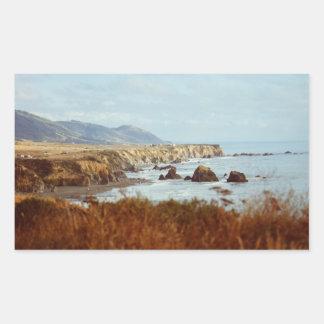 Bodega Bay Pacific Coast Highway Rectangle Sticker
