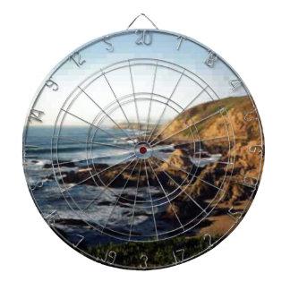 Bodega Bay Shore Dartboard With Darts