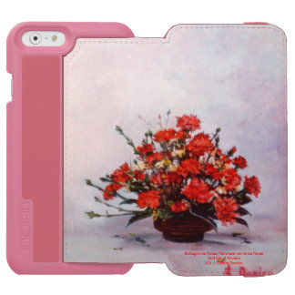 Bodegón of flowers/Still life of flowers Incipio Watson™ iPhone 6 Wallet Case