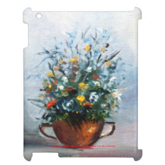 Bodegón of flowers/Still life of flowers iPad Cover