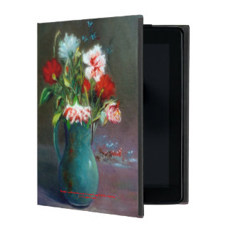 Bodegón of flowers/Still life of flowers iPad Covers