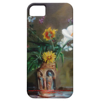 Bodegón of flowers/Still life of flowers iPhone 5 Cases
