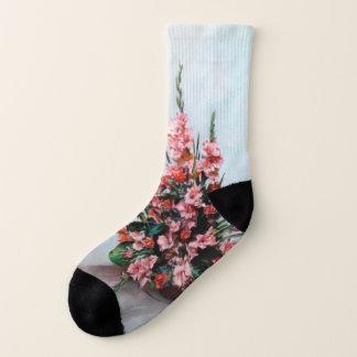 Bodegón of flowers/Still life of flowers Socks