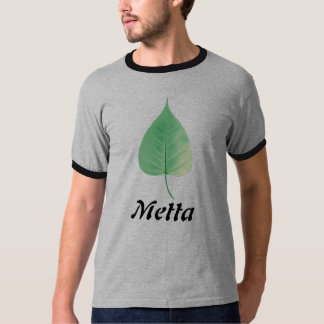 Bodhi Leaf, Metta T-Shirt