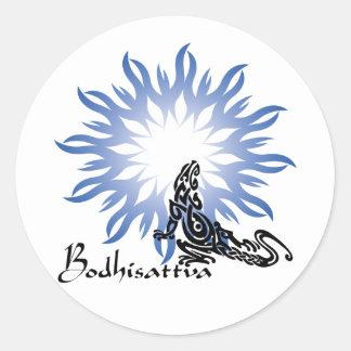 Bodhisattva Round Sticker