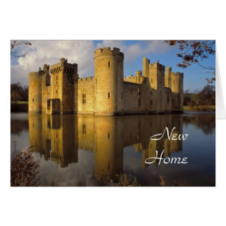 Bodiam Castle new home card