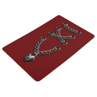 Bodice Corsage Chain Floor Mat