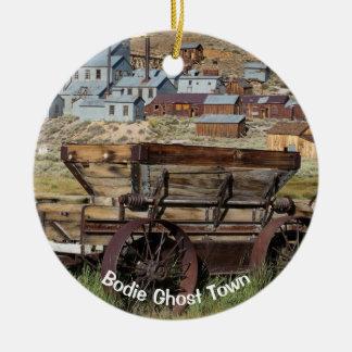 Bodie Ghost Town California Ceramic Ornament