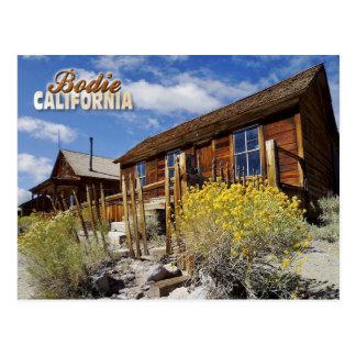 Bodie Ghost Town, California Postcard