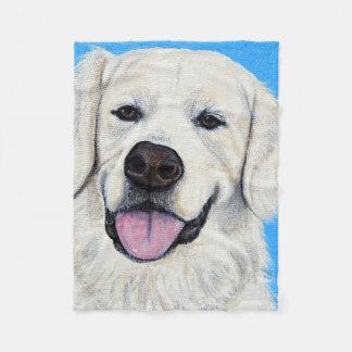 Bodie - Golden Retriever Fleece Blanket