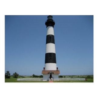 Bodie Island Light Wide Postcard