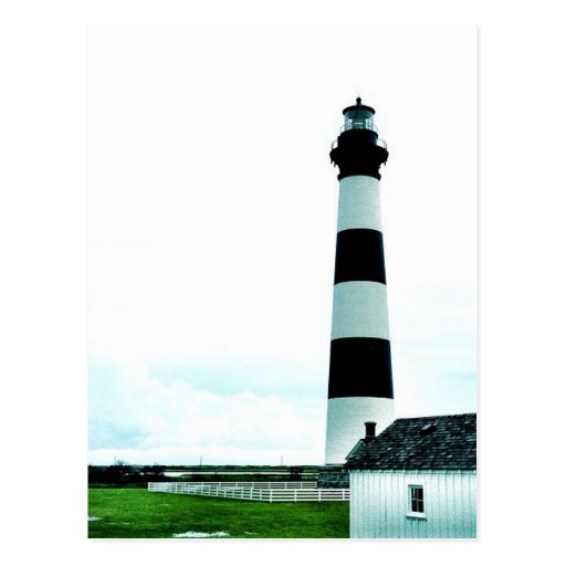 Bodie Island Lighthouse OBX North Carolina Post Card