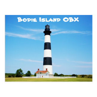 Bodie Island Lighthouse - Outter Banks, NC Postcard