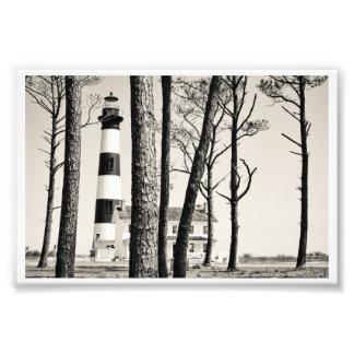 Bodie Island Lighthouse. Photograph