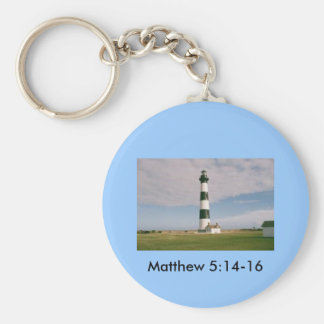 Bodie Lighthouse, Matthew 5:14-16 Key Ring