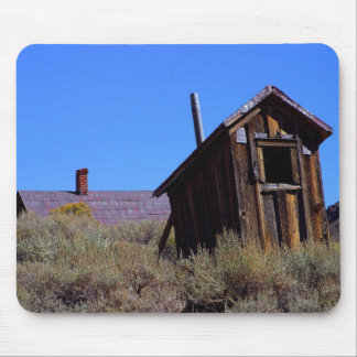 Bodie Outhouse Mouse Pad
