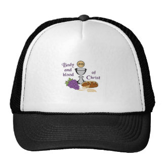 BODY AND BLOOD OF CHRIST CAP