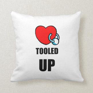 Body Art Pillow - Body Piercing Throw Cushion