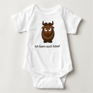 "Body ""bad Bison "" Baby Bodysuit"