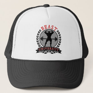Body Building Beast University Trucker Hat