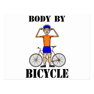 Body By Bicycle Postcard