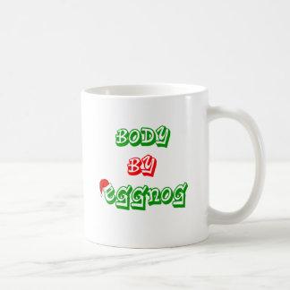 Body by eggnog coffee mug