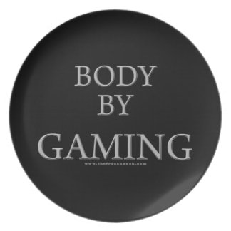 Body By Gaming Party Plates