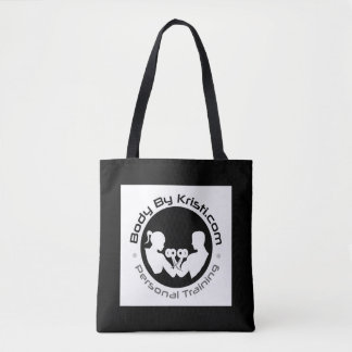 Body By Kristi Personal Training Tote Bag-Black
