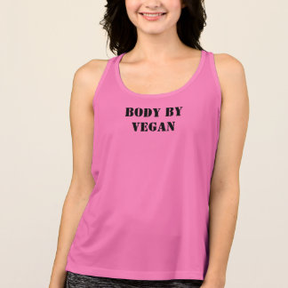 body by vegan singlet