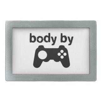 Body By Video Games Belt Buckle