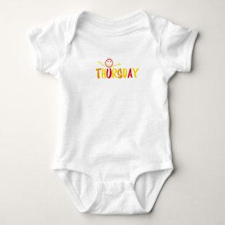 body for Thursday Baby Bodysuit