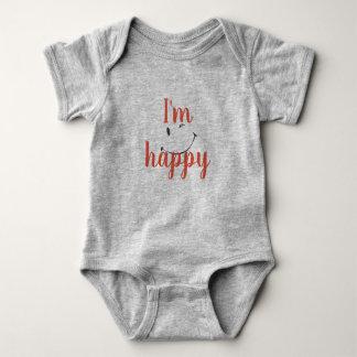 Body gray baby baby bodysuit